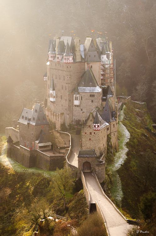 Burg Eltz from the outlook