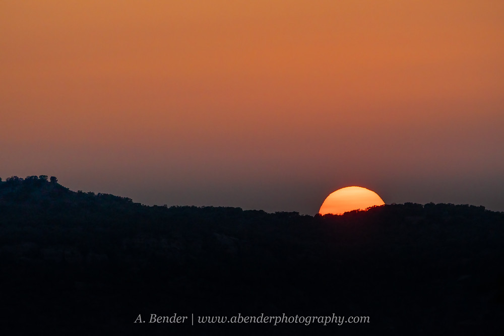 Sunset over Caprock Escarpment in Northern Texas | A Bender Photography LLC