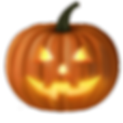 Glowing-pumpkin-halloween-transparent-ba