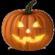 Glowing-pumpkin-halloween-transparent-ba