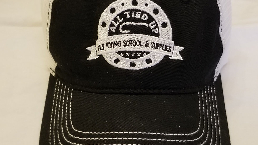 All Tied Up Fly Tying School Truckers Hat