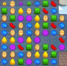 Screen shot of Candy Crush game