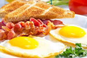 Continental breakfast.
