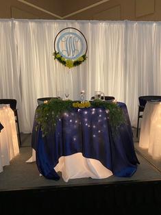 Bride + Groom Table