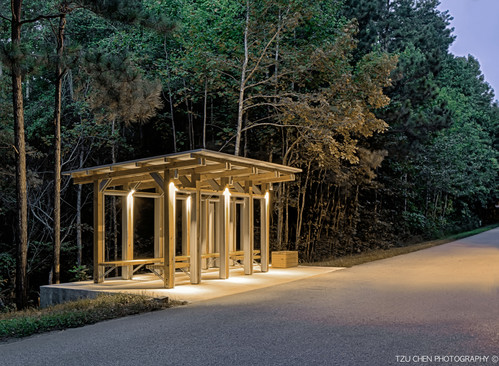 HEALING PLACE BUS SHELTER