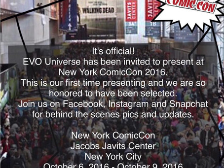 EVO Universe will be at NYC Comiccon!
