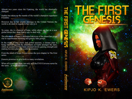 Genesis Book Cover Revealed!