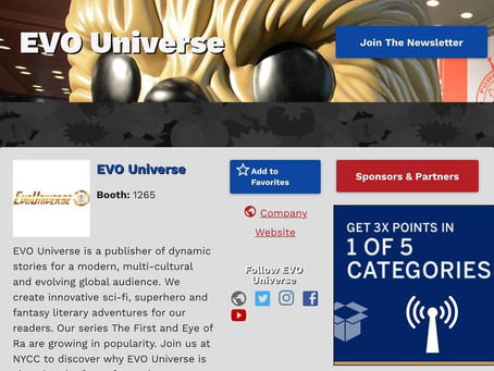 EVO Universe News: Check out our exhibitor profile!