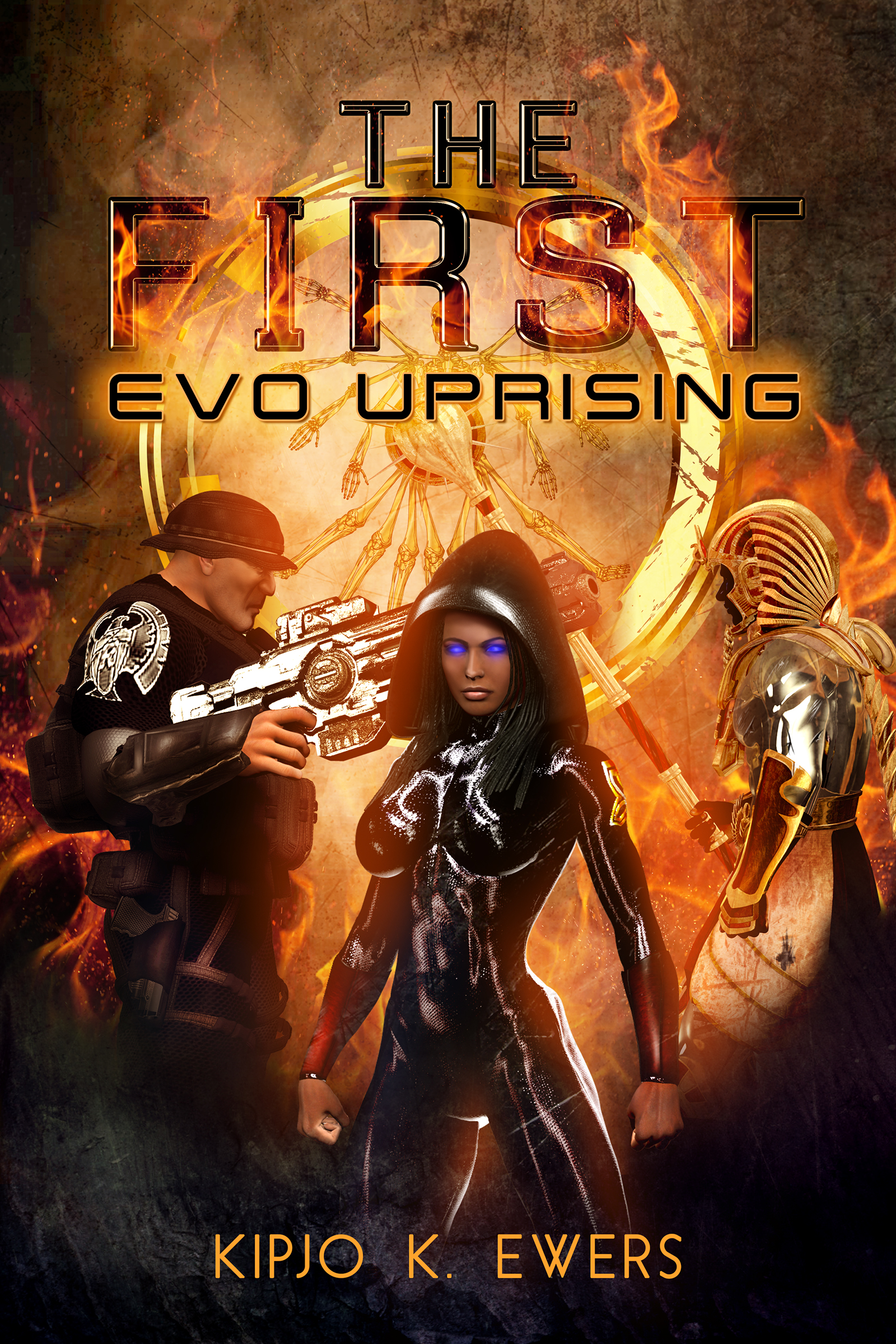 The First EVO Uprising Ebook Cover