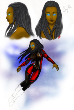 Sophia Dennison Sketch by Zosea H