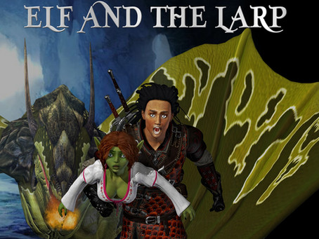 ELF and the LARP BOOK COVER REVEAL