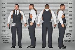 F.B.I Agent Mark Armitage