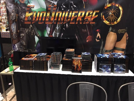 EVO NEWS: NEW YORK COMICCON REVIEW, GOODREADS CONTEST WINNERS, AND GENESIS!