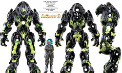 Lady Tech and SAM Armor