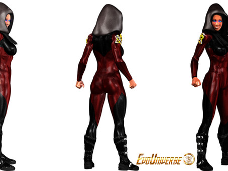 Freedom Costume Concept Artwork