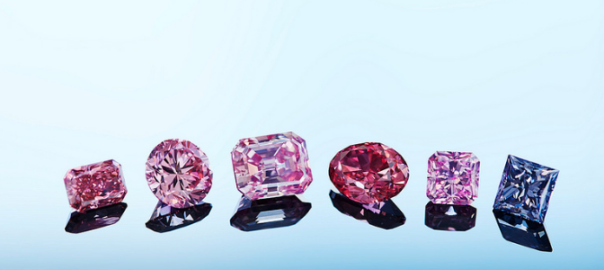Record Argyle Pink Diamond tender