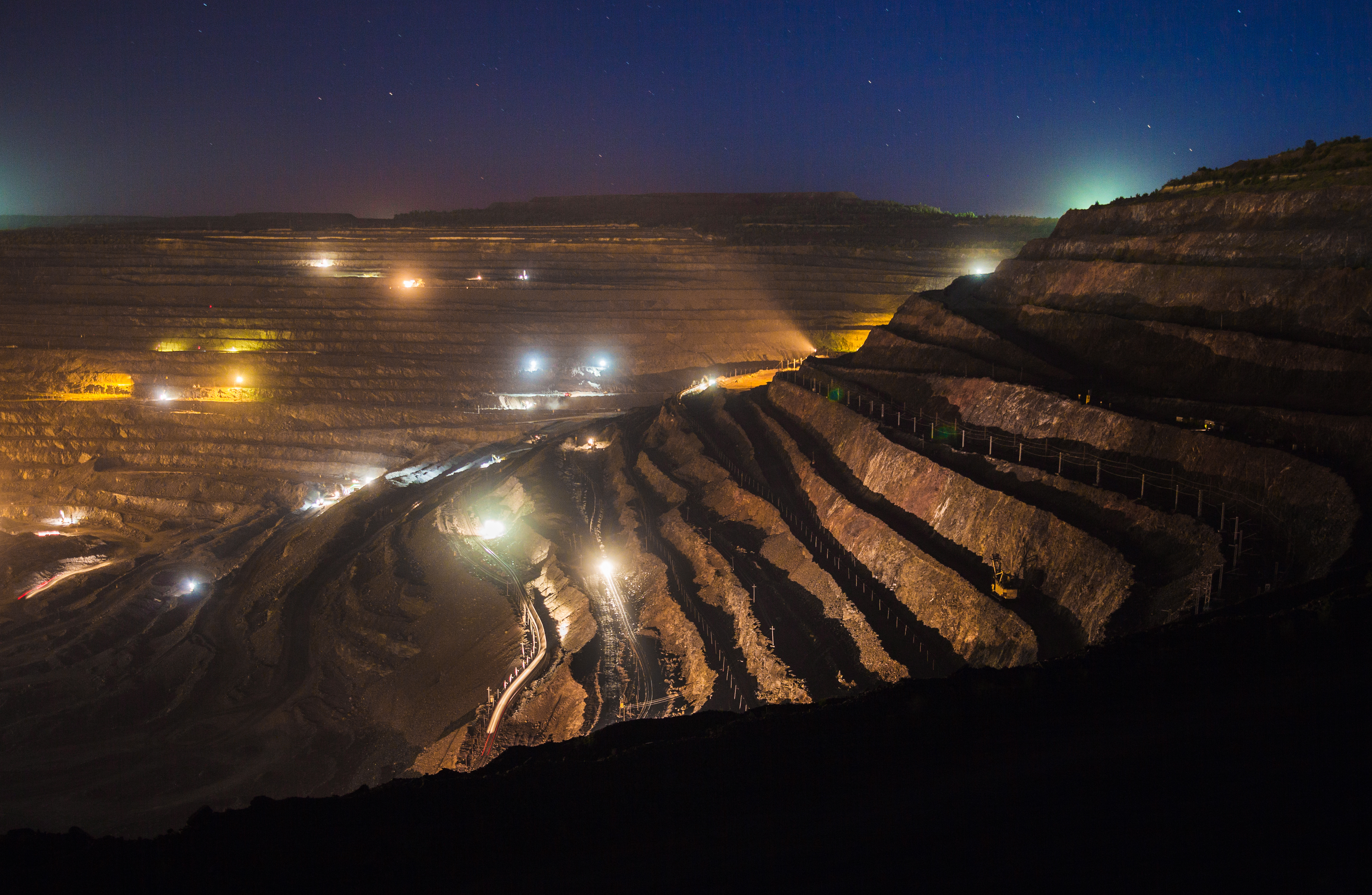 How the mining and resource industry survived
