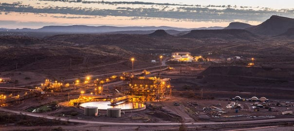 Rio Tinto iron ore production rises