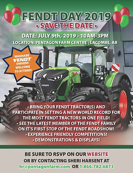 2019 Fendt Day Invitation  - Mailer Vers