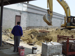 Franklin Athletic Club Renovation Installing New Storm Sewer & Underground Detention