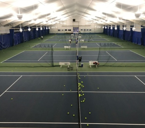 Liberty Athletic Club - Tennis LED Retrofit - Utility Rebate - 2 days work