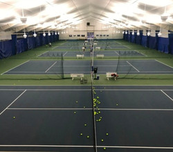 Liberty Athletic Club - Tennis LED Retrofit - Utility Rebate - 2 days work