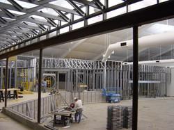 Masonry / Structural Steel / Custom Steel Stud / Fire Protection Turn Key