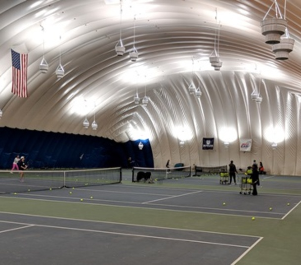 Butler University Tennis Dome LED Lighting 60% Energy Savings