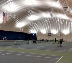 Butler University Tennis Dome LED Lighting 60% Energy Savings