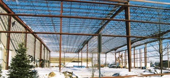 Shawmut Mills  Port Huron 33,000 Sq.Ft CECO Metal Building