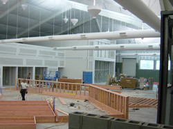 50 Ton RTU and Ductwork / Indirect Lighting / R-25 Insulated Ceiling