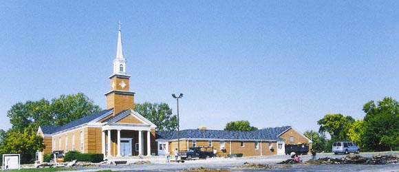 Emmanuel Bethel Church Addition 13,000 Sq.Ft. Two story Class Rooms and Gym 1985