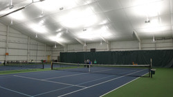 R-25 Insulated Ceiling / Indirect Lighting / Tennis Court Nets, Post and Curtains