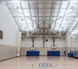 East Bank Indirect LED Gym Lighting 1 day retrofit