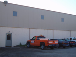 """After - Oakland County Road Comm Installed  2.5"""" Insulated Metal Panel"""