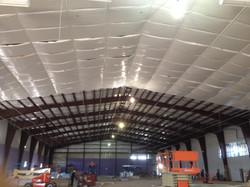 LSU Indoor Tennis R-16 ROD Suspension Insulation System