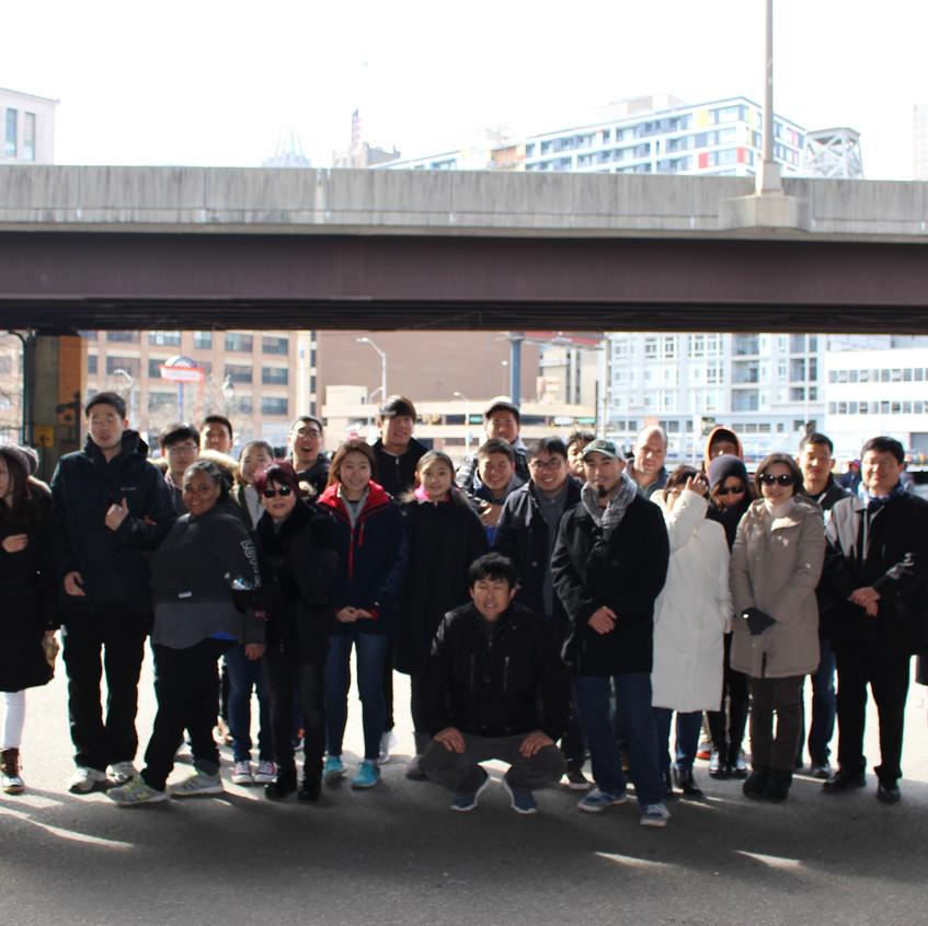 홈리스 섬김사역에 동참한 벧엘교회 성도 및 UMBC 학생들2