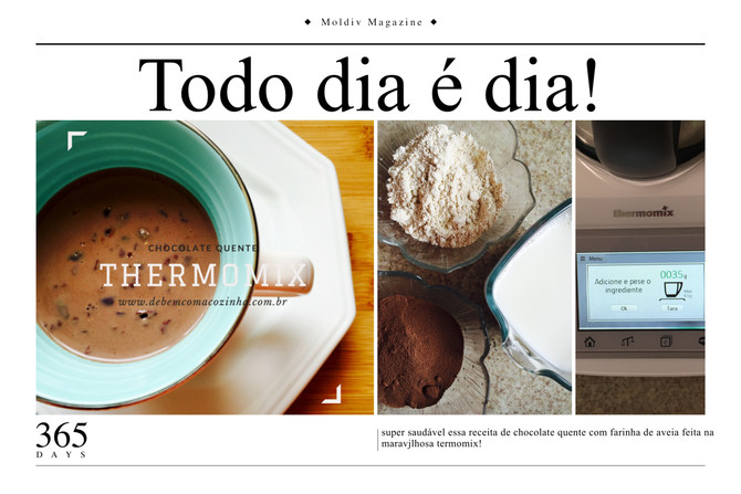 Chocolate Quente - Thermomix