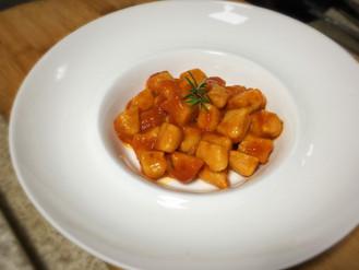 Gnocchi de Batata Doce sem glúten