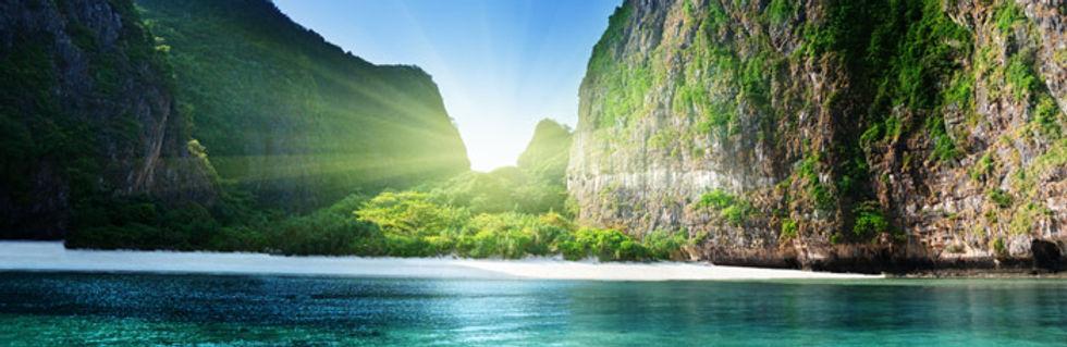 sunrise maya bay