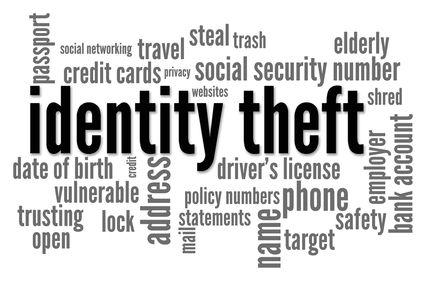 identity theft banner