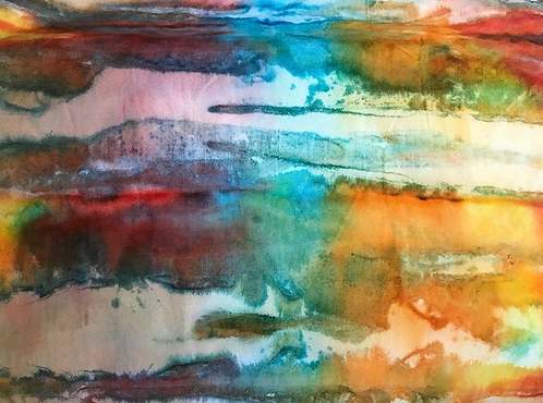 Hand dyed Wrap -Tie Dyed
