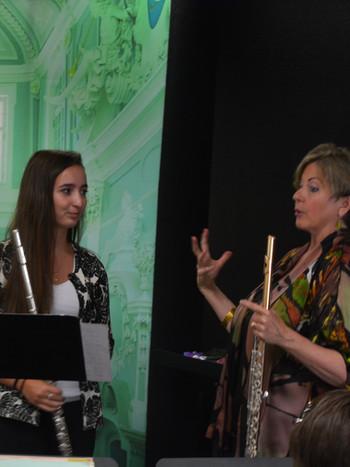 Jill Felber Masterclass, Professor of Flute at UC Santa Barbara