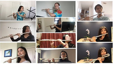 San Diego flute lessons, virtual flute lessons, virtual flute performance, virtual flute choir, carmel valley, torrey hills, sorrento valley