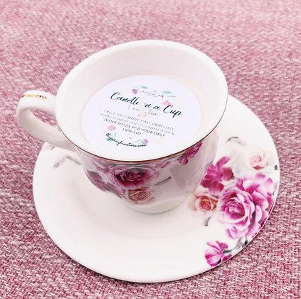 Tea Cup Candle 3 oz