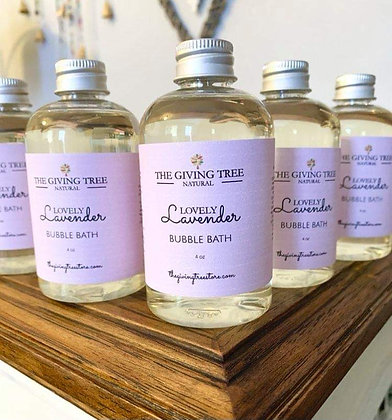Lovely Lavender Bubble Bath