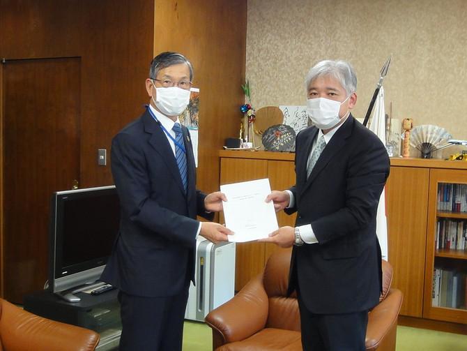 航空宇宙産業における新型コロナウイルス感染症の影響軽減に関する緊急要望書を提出しました