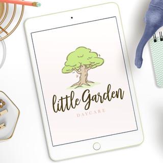 Little Garden Daycare Branding