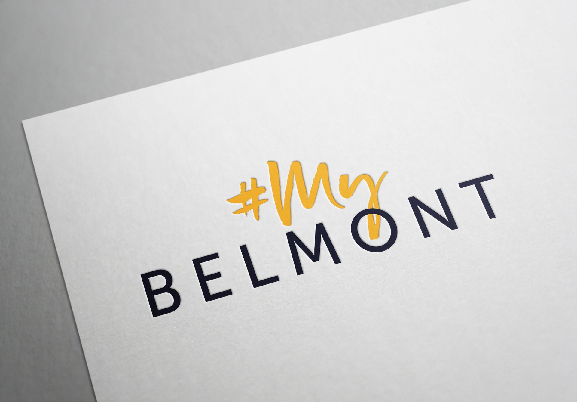 My Belmont Logo Design