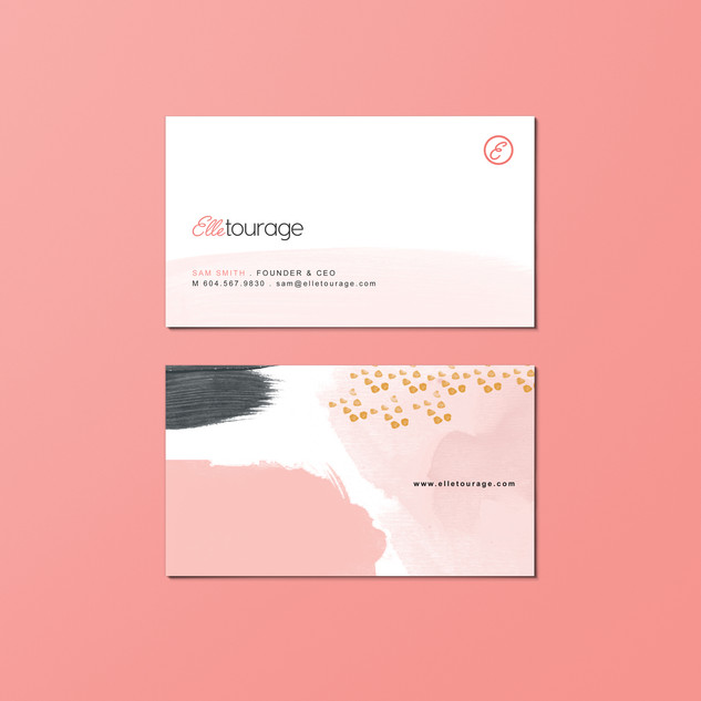 Elletourage Brand Development & Web Design